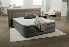Надувная кровать Intex 64474 со встр. насосом 220V (152x46x203)