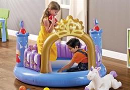 Игровой центр Замок Принцессы Intex 48669