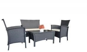 "Комплект уличной мебели ""Luino""  (стол - 90х60 см, диван, 2 кресла)"
