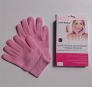 Косметические увлажняющие гелиевые перчатки STAY GOLD
