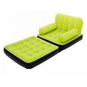 Надувное кресло трансформер Bestway 67277 (лайм)
