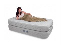 Надувная кровать Intex 66964 односпальная со встр. насосом 220В (99x191x51)