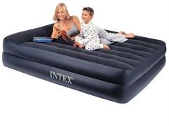 Надувная кровать Intex 66720 двуспальная (без насоса) (157х203х47)