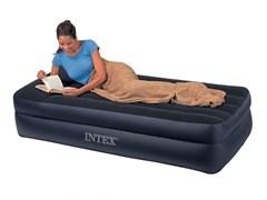 Надувная кровать Intex 66721 односпальная (без насоса) (99х191х47)