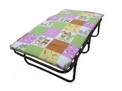 Детская раскладушка с матрасом Р150 (кровать раскладная) 1540х810х470мм