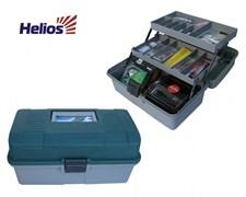 "Ящик двухполочный ""Helios"" зеленый - 340х200х160 мм"