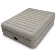 Надувная двуспальная кровать Intex 64446 со встр. насосом (152х203х51)