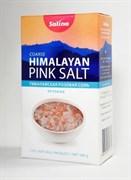 Гималайская розовая соль в картонной пачке 500 гр