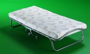 Детская раскладушка Релакс с матрасом + ограничители матраса (кровать раскладная) 1550x700x300мм