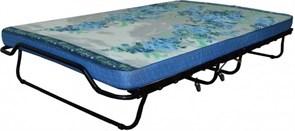 Двуспальная раскладушка Симона с матрасом + ограничители матраса (кровать раскладная)