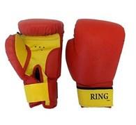 Перчатки боксерские на липучке 12 унц