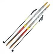 Лыжный комплект (лыжи+палки) крепление SNN 170