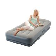 Надувная кровать Intex 64116 односпальная со встр. насосом 220В