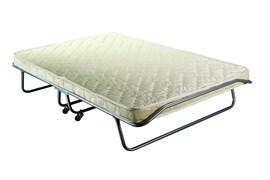 Двуспальная раскладушка Бенилюкс с матрасом + ограничители матраса, чехол (кровать раскладная) 2000x1300x400мм