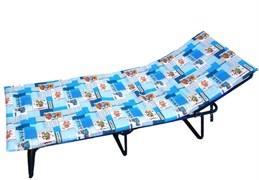 Детская раскладушка Мечта М с матрасом + рег.подголовник (раскладная кровать) 1600х600х290мм