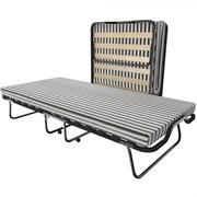 Раскладушка Leset 215 с матрасом + ограничители матраса (кровать раскладная) 2000х900х470мм