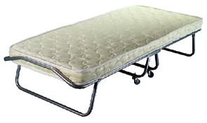 Раскладушка Барвиха с матрасом + ограничители матраса, чехол (кровать раскладная) 1900x800x400мм