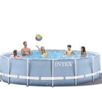 Каркасный бассейн Intex 28702 + фильтр-насос (305х76см)