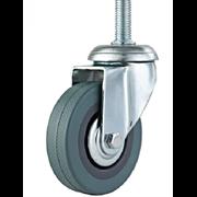 Комплект колёс металлических для раскладушек 4 шт.