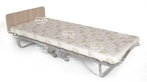 Детская раскладушка Колыбель (дуб, орех, венге) с матрасом + изголовье, ограничители матраса (кровать раскладная) 1570x700x300мм