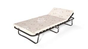 Раскладушка Клайд с матрасом + рег.подголовник (раскладная кровать) 2040х900х380мм