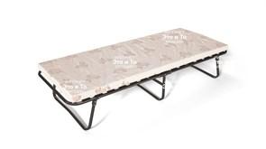 Раскладушка СССР с матрасом (кровать раскладная) 2040х810х440мм