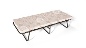 Раскладушка 777 с матрасом (раскладная кровать) 1850х810х440мм