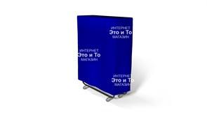 Чехол 90 см (синий) для раскладной кровати, раскладушки