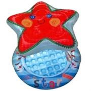 Бассейн детский Звезда с надувным полом и навесом Intex 57428 (102х86)