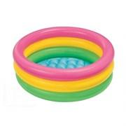 Детский надувной бассейн с надувным дном Intex 58924 (86х25)