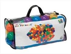 Набор шариков-мячиков для игровых центров (8см) Intex Fun Ballz 49600